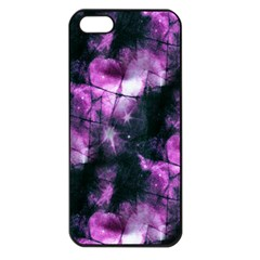 Celestial Purple  Apple Iphone 5 Seamless Case (black) by KirstenStar