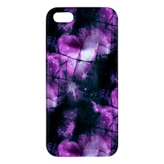 Celestial Purple  Apple Iphone 5 Premium Hardshell Case by KirstenStar