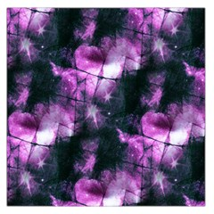 Celestial Purple  Large Satin Scarf (square) by KirstenStar