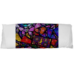 Fractal Stained Glass Body Pillow Case Dakimakura (two Sides) by WolfepawFractals