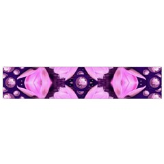Magic Lotus In A Landscape Temple Of Love And Sun Flano Scarf (small) by pepitasart