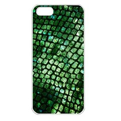 Dragon Scales Apple Iphone 5 Seamless Case (white) by KirstenStar