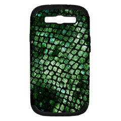 Dragon Scales Samsung Galaxy S Iii Hardshell Case (pc+silicone) by KirstenStar