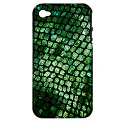 Dragon Scales Apple Iphone 4/4s Hardshell Case (pc+silicone) by KirstenStar
