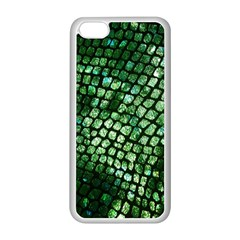Dragon Scales Apple Iphone 5c Seamless Case (white) by KirstenStar