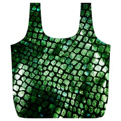Dragon Scales Full Print Recycle Bags (l)  by KirstenStar