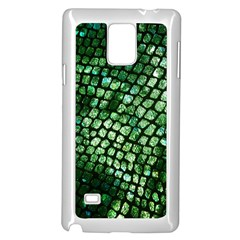 Dragon Scales Samsung Galaxy Note 4 Case (white) by KirstenStar