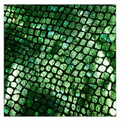 Dragon Scales Large Satin Scarf (square) by KirstenStar
