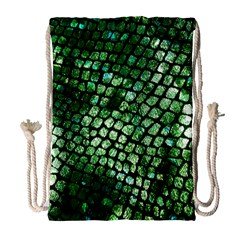 Dragon Scales Drawstring Bag (large) by KirstenStar