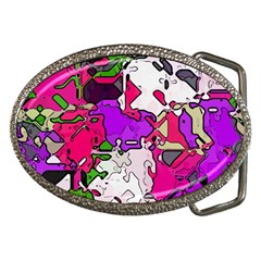 Ink Shapes                                                                         			belt Buckle