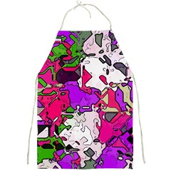 Ink Shapes                                                                         			full Print Apron by LalyLauraFLM