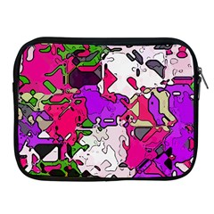 Ink Shapes                                                                         			apple Ipad 2/3/4 Zipper Case by LalyLauraFLM