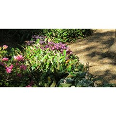 Shadowed Ground Cover You Are Invited 3d Greeting Card (8x4)  by ArtsFolly