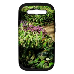 Shadowed Ground Cover Samsung Galaxy S Iii Hardshell Case (pc+silicone) by ArtsFolly