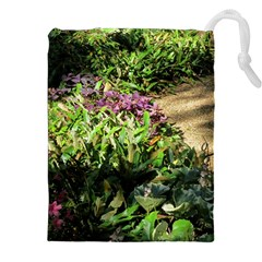 Shadowed Ground Cover Drawstring Pouches (xxl) by ArtsFolly