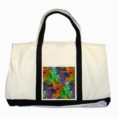 Reality Is Melting Two Tone Tote Bag