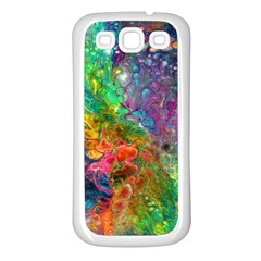 Reality Is Melting Samsung Galaxy S3 Back Case (white)