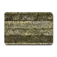 Grunge Stripes Print Small Doormat  by dflcprints