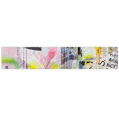 Graffiti Graphic Flano Scarf (large)