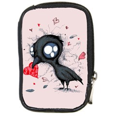 Baby Crow  Compact Camera Cases
