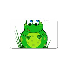 Green Frog Magnet (name Card)