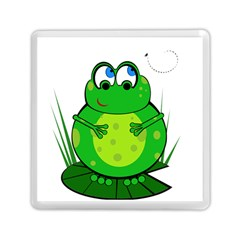 Green Frog Memory Card Reader (square)  by Valentinaart