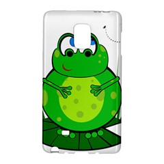 Green Frog Galaxy Note Edge by Valentinaart