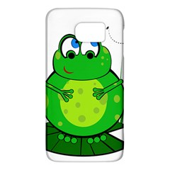 Green Frog Galaxy S6 by Valentinaart
