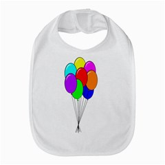 Colorful Balloons Bib by Valentinaart