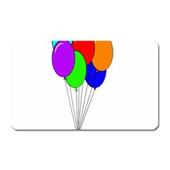 Colorful Balloons Magnet (rectangular) by Valentinaart