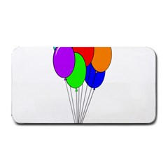 Colorful Balloons Medium Bar Mats by Valentinaart