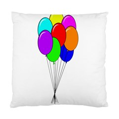 Colorful Balloons Standard Cushion Case (two Sides) by Valentinaart