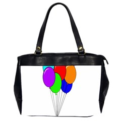 Colorful Balloons Office Handbags (2 Sides)