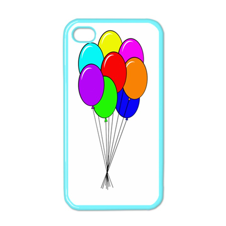 Colorful Balloons Apple iPhone 4 Case (Color)