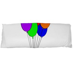 Colorful Balloons Body Pillow Case Dakimakura (two Sides) by Valentinaart