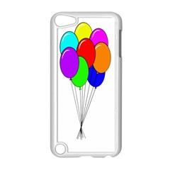 Colorful Balloons Apple Ipod Touch 5 Case (white) by Valentinaart