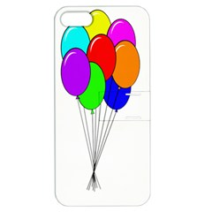 Colorful Balloons Apple Iphone 5 Hardshell Case With Stand by Valentinaart