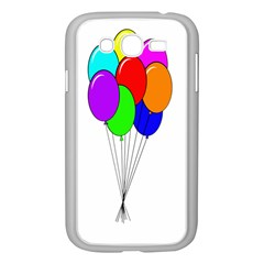 Colorful Balloons Samsung Galaxy Grand Duos I9082 Case (white) by Valentinaart