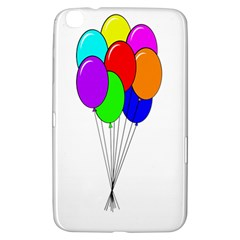 Colorful Balloons Samsung Galaxy Tab 3 (8 ) T3100 Hardshell Case  by Valentinaart
