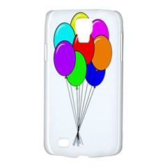 Colorful Balloons Galaxy S4 Active by Valentinaart