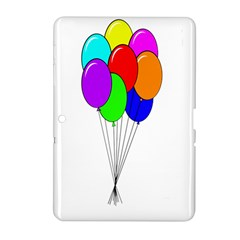 Colorful Balloons Samsung Galaxy Tab 2 (10 1 ) P5100 Hardshell Case  by Valentinaart