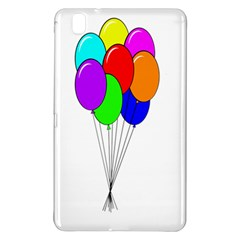 Colorful Balloons Samsung Galaxy Tab Pro 8 4 Hardshell Case by Valentinaart