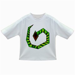 Decorative Snake Infant/toddler T Shirts by Valentinaart