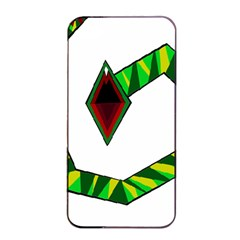 Decorative Snake Apple Iphone 4/4s Seamless Case (black) by Valentinaart