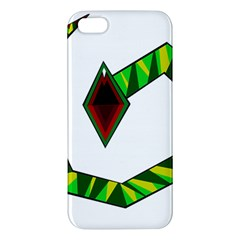 Decorative Snake Apple Iphone 5 Premium Hardshell Case by Valentinaart