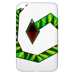 Decorative Snake Samsung Galaxy Tab 3 (8 ) T3100 Hardshell Case  by Valentinaart