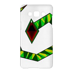 Decorative Snake Samsung Galaxy A5 Hardshell Case  by Valentinaart