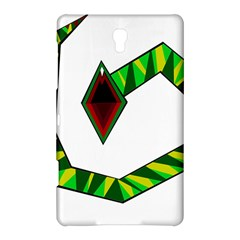 Decorative Snake Samsung Galaxy Tab S (8 4 ) Hardshell Case  by Valentinaart
