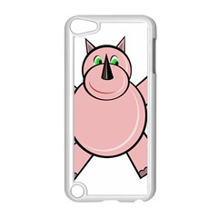 Pink Rhino Apple Ipod Touch 5 Case (white)