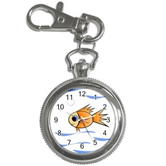 Cute Fish Key Chain Watches by Valentinaart
